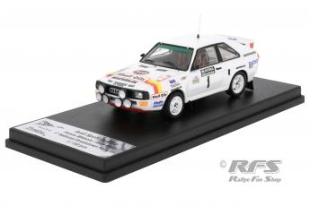 Audi Sport quattro - Breakdown Rallye 1986Hannu Mikkola / Arne Hertz  -  # 1
