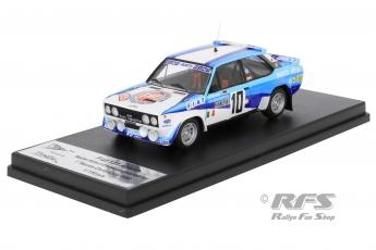 Fiat 131 Abarth - Winner Rallye Monte Carlo 1980Walter Röhrl / Christian Geistdörfer  -  # 10