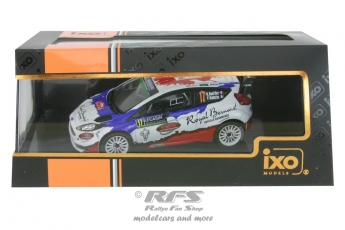Ford Fiesta RS WRC - Rally Monte Carlo 2016<br />Bryan Bouffier / Victor Bellotto  -  # 17<br />1:43 - IXO RAM 629