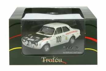 Ford Escort RS 1600 Mk I - Manx Trophy Rallye 1971<br />Cal Withers / John Adams  -  # 100<br />1:43 - Trofeu 0552