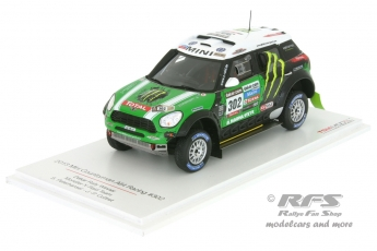 Mini Countryman All4 Racing - Rally Dakar 2013<br />Stephane Peterhansel / Jean-Pierre Cottret  -  # 302<br />1:43 - TSM Model 144345