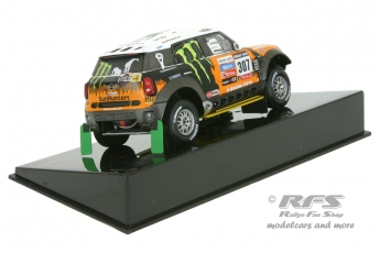 Mini All 4 Racing - Rallye Dakar 2013<br />Leonid Movitskly / Konstantin Zhiltsov  -  # 307<br />1:43 - IXO RAM 575