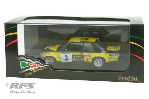 Fiat 131 Abarth - Rally Boucles de Spa 1980<br />Michele Mouton / Annie Arrii  -  # 3<br />1:43 - Trofeu RRbe09