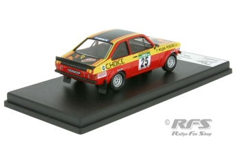 Ford Escort RS 1800 Mk II - Rally Portugal 1978<br />Giovanni Salvi / Ze Matriculas  -  # 25<br />1:43 - Trofeu Rral 089