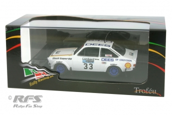 Ford Escort RS 1800 Mk II - RAC Rally 1980<br />Tim Brise / Phil Short  -  # 33<br />1:43 - Trofeu RRuk39