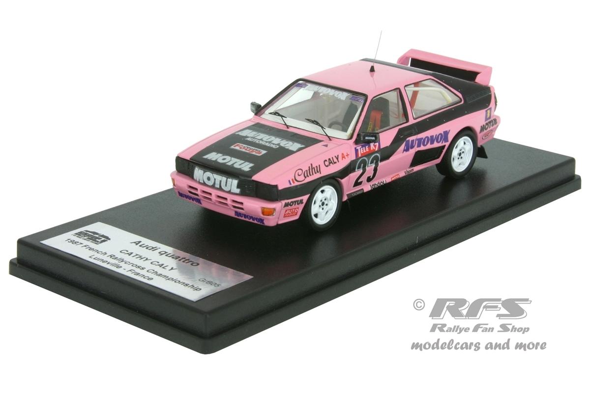 Audi Quattro - Cathy Caly  # 23 Rallycross Frankreich - Luneville 1987 1:43 - Trofeu GrB 05