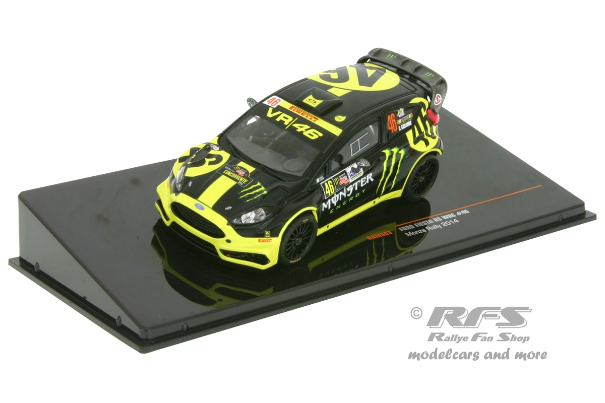 ford fiesta rs wrc monza rallye show 2014 valentino rossi. Black Bedroom Furniture Sets. Home Design Ideas