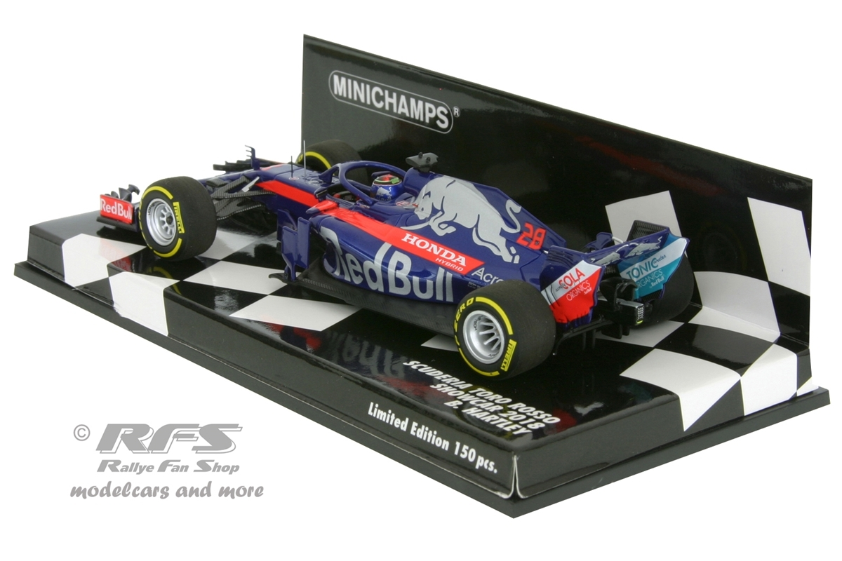 scuderia toro rosso honda hartley formel 1 2018 showcar 1. Black Bedroom Furniture Sets. Home Design Ideas