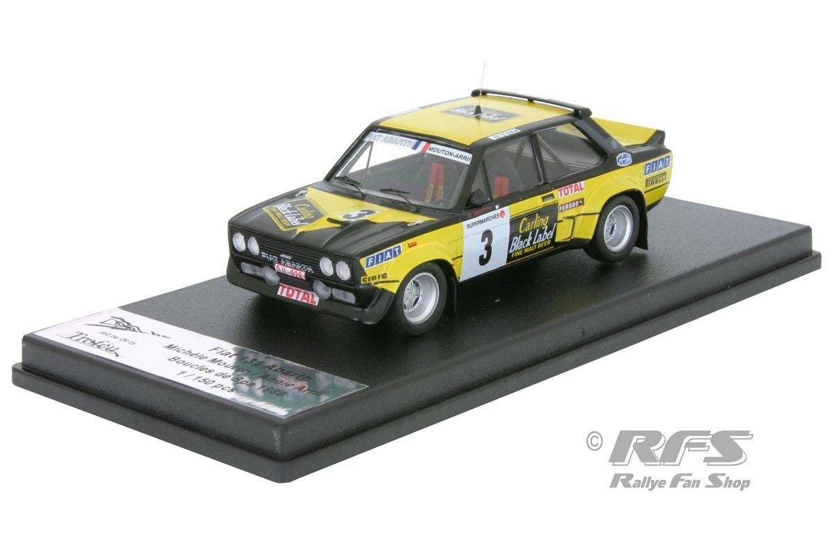 Fiat 131 Abarth  Rallye Tour de Corse 1978  Michele Mouton  1:43 Trofeu NEU