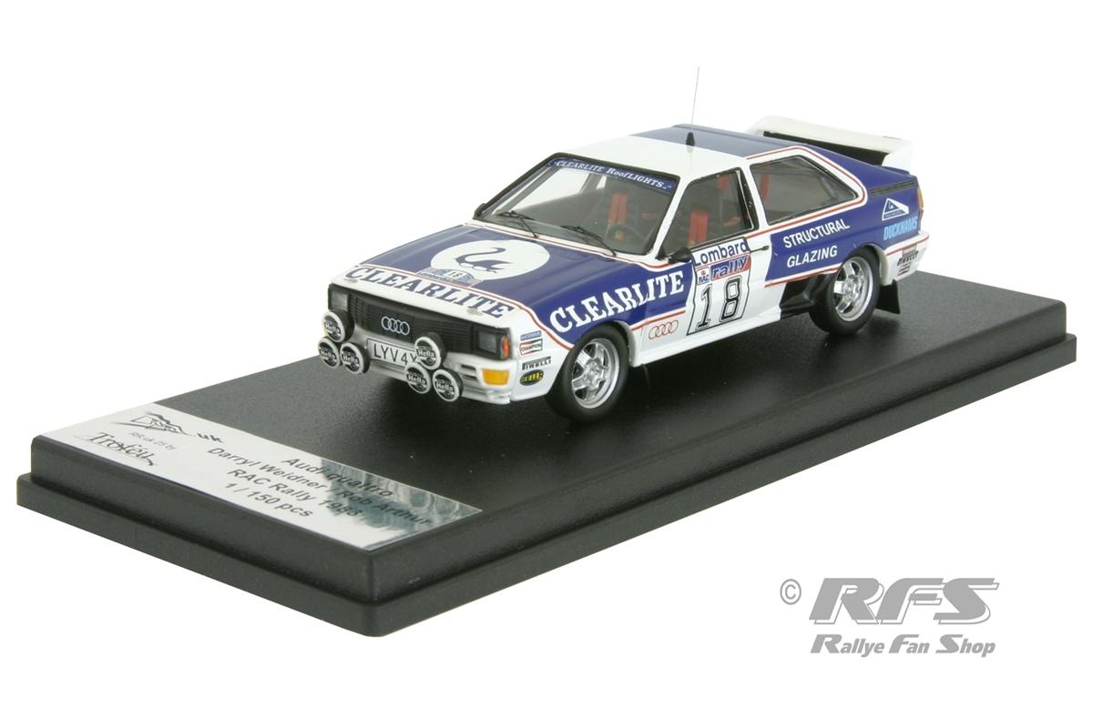 Audi Quattro  Lombard RAC Rallye 1983  Darryl Weidner  1:43 Trofeu RRuk25 NEU