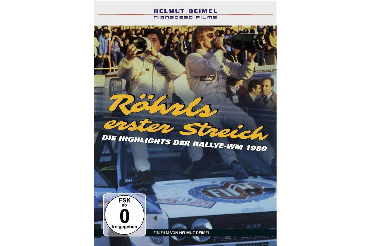 Röhrls erster StreichDie Highlights der Rallye WM 1980DVD - Helmut Deimel