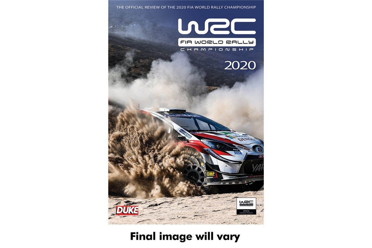 WRCFIA World Rally Championship Review 2020DVD - Duke 5001