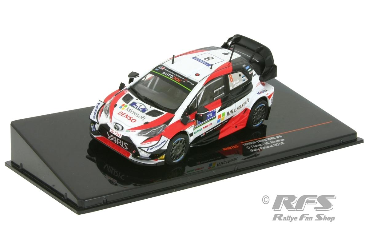 Toyota Yaris WRC - Rallye Finnland 2019Ott Tänak / Martin Järveoja  -  # 81:43 - IXO RAM 723