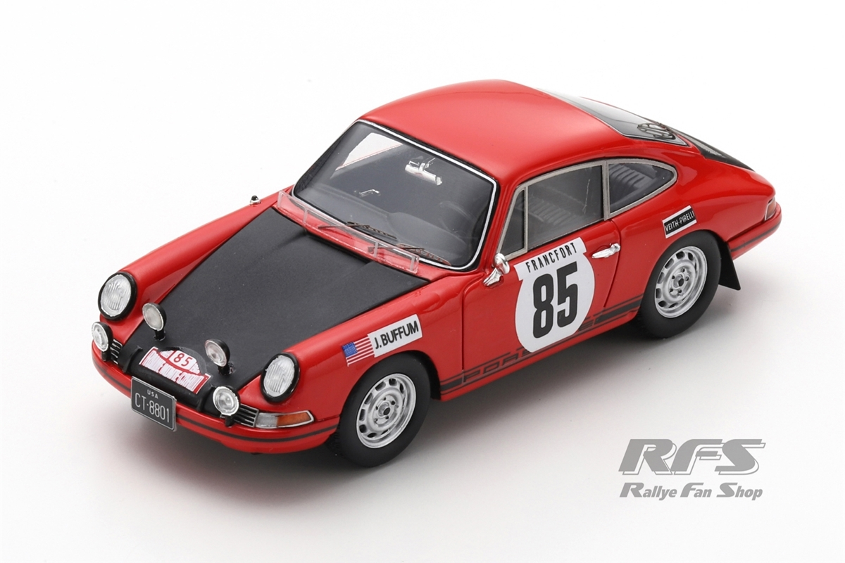 Porsche 911 T - Rallye Monte Carlo 1969John Buffum / Stephen Behr  -  # 851:43 - Spark 6608