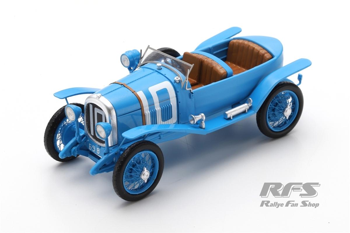 Chenard Walcker Sport 3.0L - 24h Le Mans 1923Raoul Bachmann / Christian Dauvergne  -  # 101:43 - Spark 8101