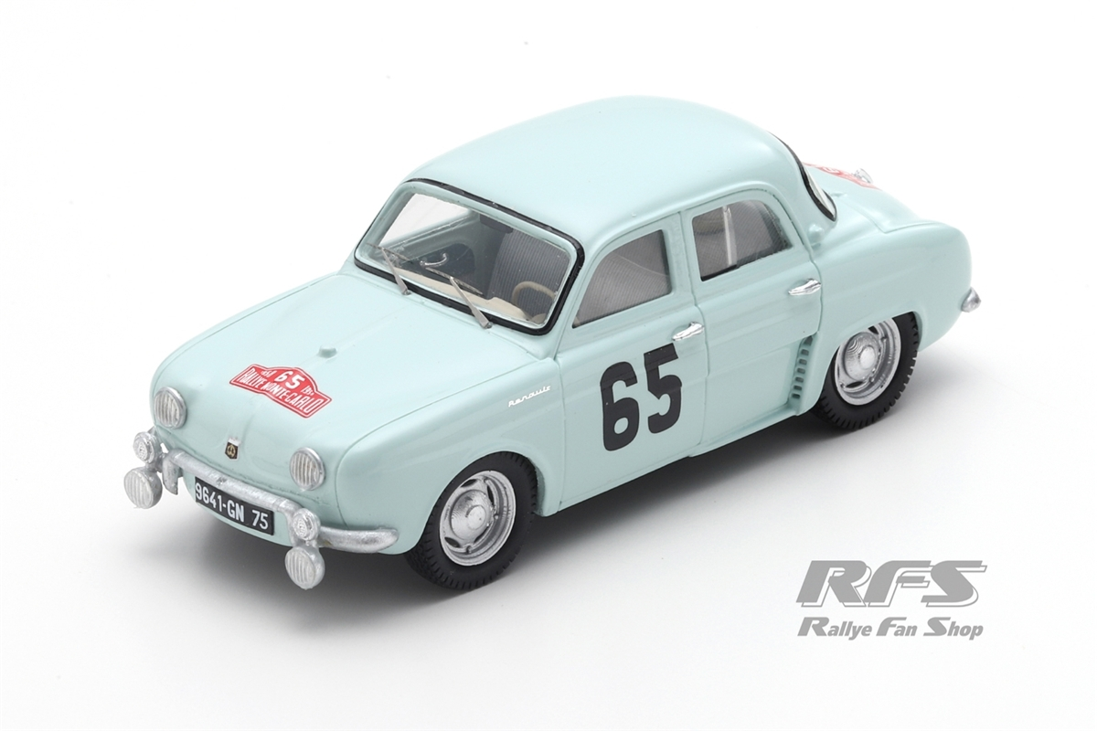 Renault Dauphine - Rallye Monte Carlo 1958Jacques Feret / Guy Monraisse  -  # 651:43 - Spark 5207