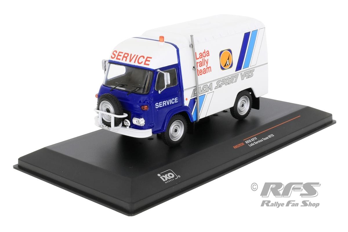 AVIA A21F - Rallye Service TransporterLada Rally Team - Brundza / Tammeka / Bolshikh1:43 - IXO RAC 293