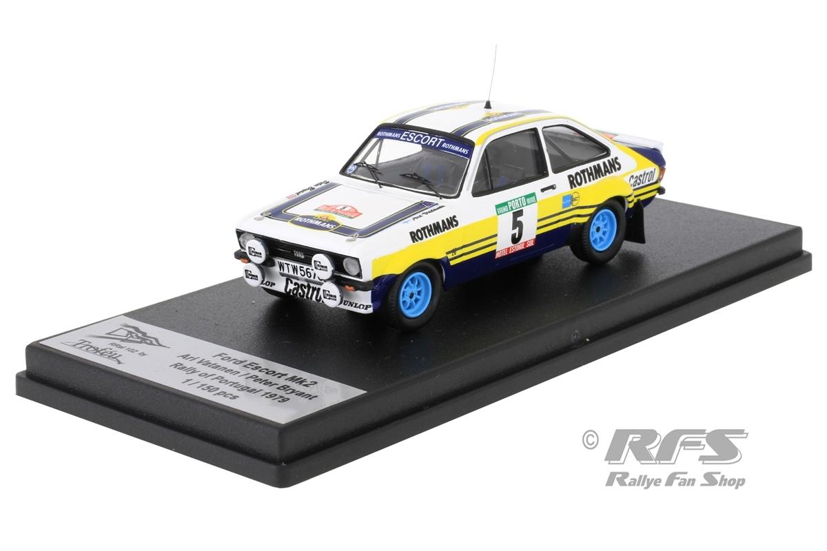 Ford Escort RS 1800 Mk II - Rallye Portugal 1979Ari Vatanen / Peter Bryant  -  # 51:43 - Trofeu Rral 102