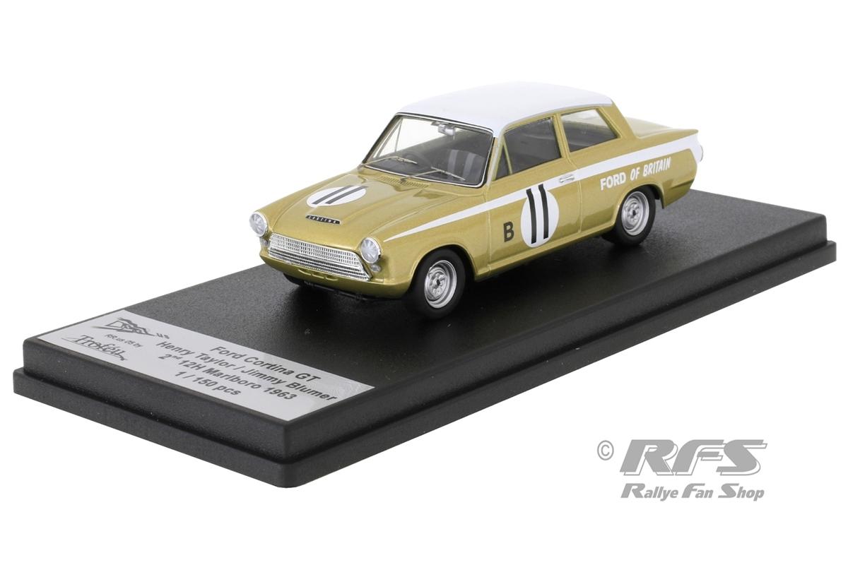 Ford Cortina Lotus GT - 12h Marlboro 1963Henry Taylor / Jimmy Blumer  -  # 111:43 - Trofeu RRus05