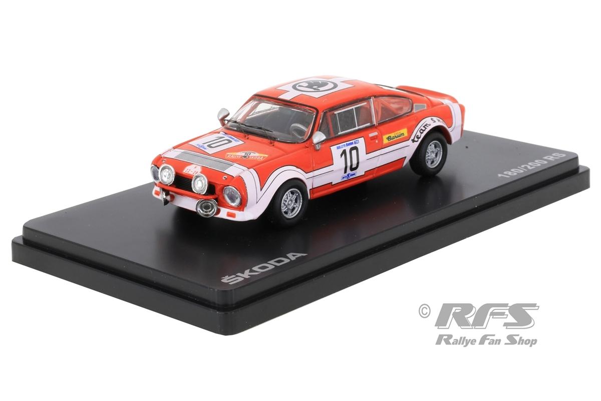Skoda 200 RS - Rallye Skoda 1974Jiri Sedivy / Jiri Janecek  -  # 101:43 - Abrex 502TB