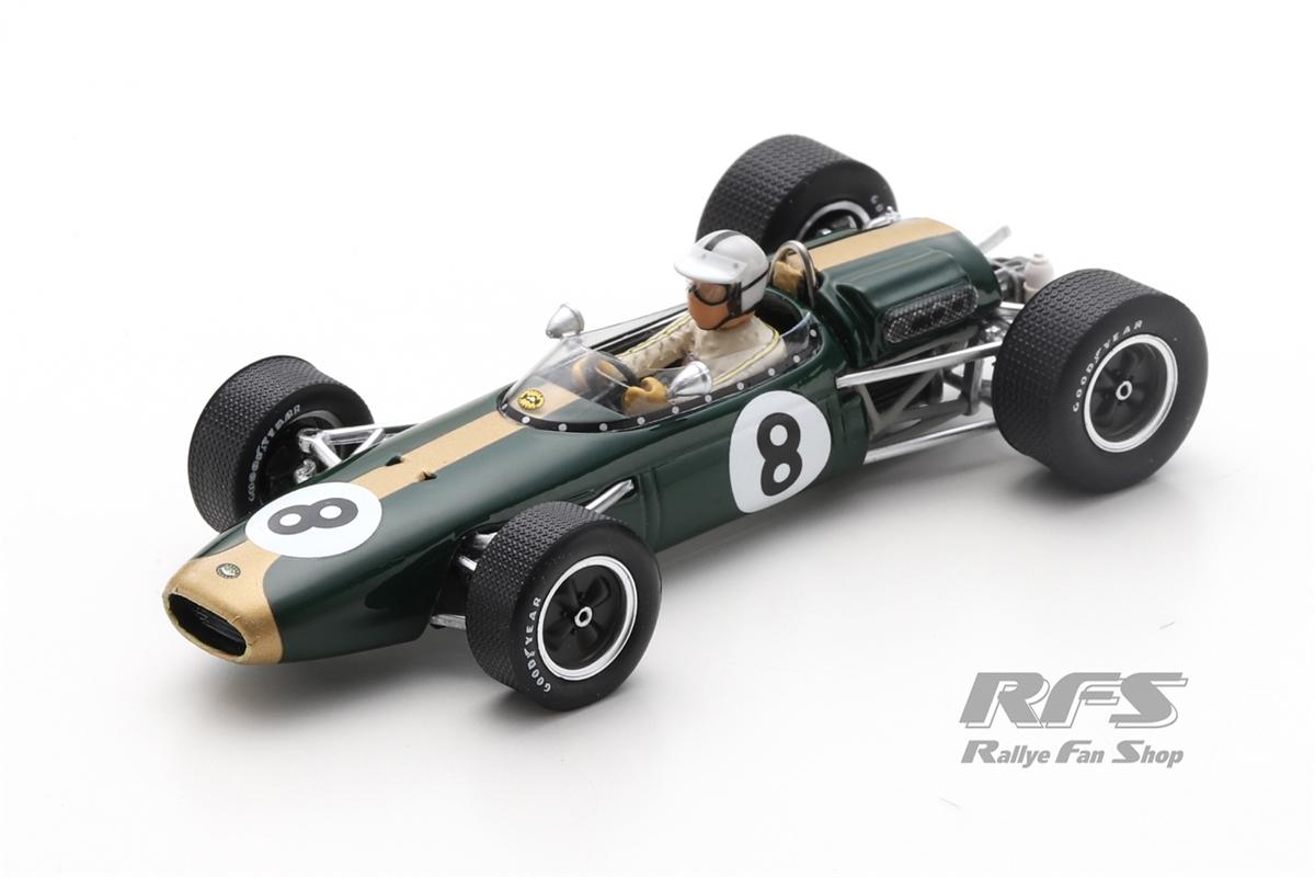 Brabham BT22 Climax - Denis HulmeFormel 1 GP Monaco 1966  -  # 81:43 - Spark 7091