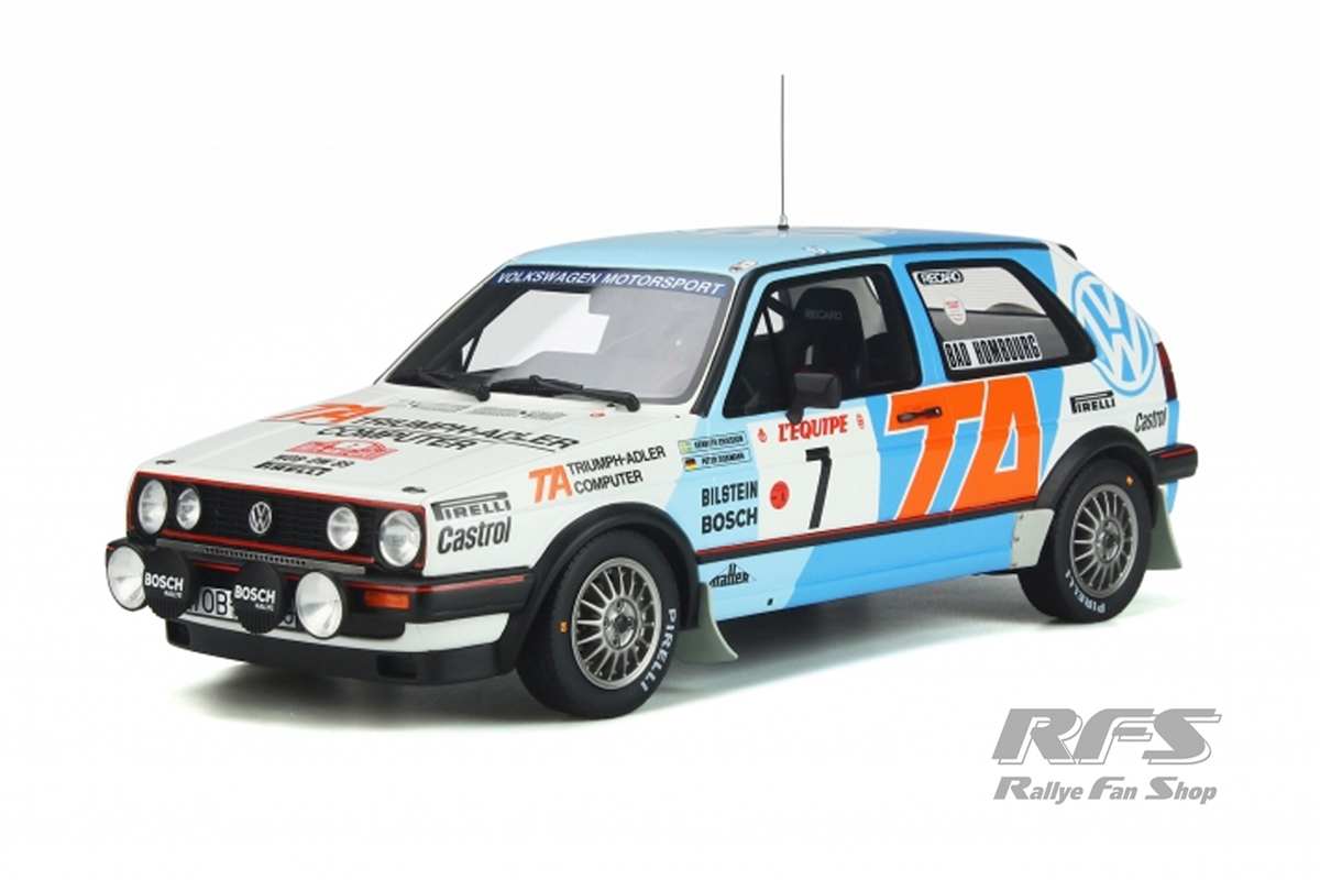 VW Golf II GTi 16V - Rallye Monte Carlo 1987Kenneth Eriksson / Peter Diekmann  -  # 71:18 - OttOmobile - OT 852