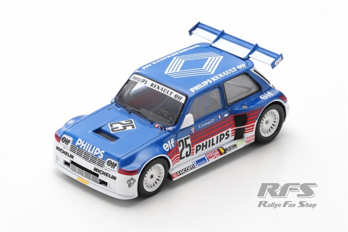 Renault 5 Maxi Turbo Superproduction 1987Erik Comas  # 25 - Champion 19871:43 - Spark SF 055