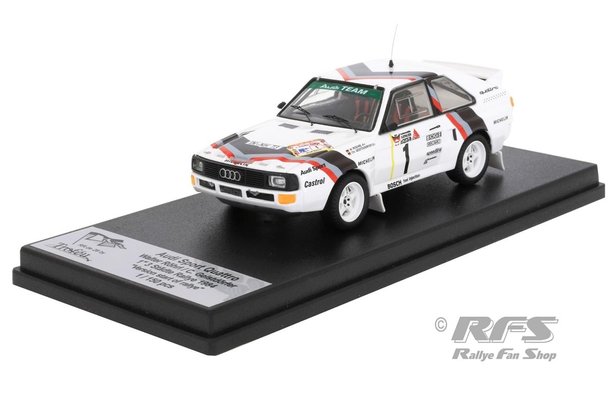 Audi Sport Quattro - 3-Städte Rallye 1984Walter Röhrl / Christian Geistdörfer  -  # 11:43 - Trofeu RRde28