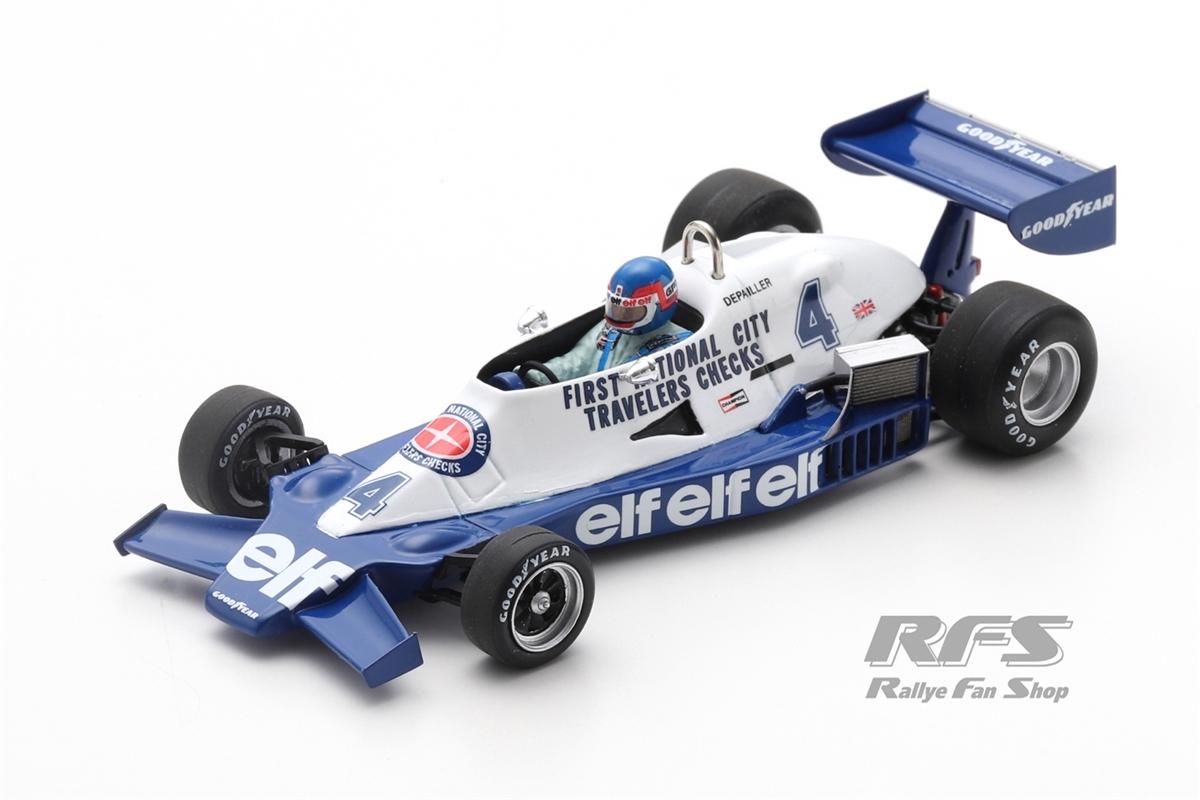 Tyrrell 008 Ford - Patrick DepaillerFormel 1 GP Argentinien 1978  -  # 41:43 - Spark 7236