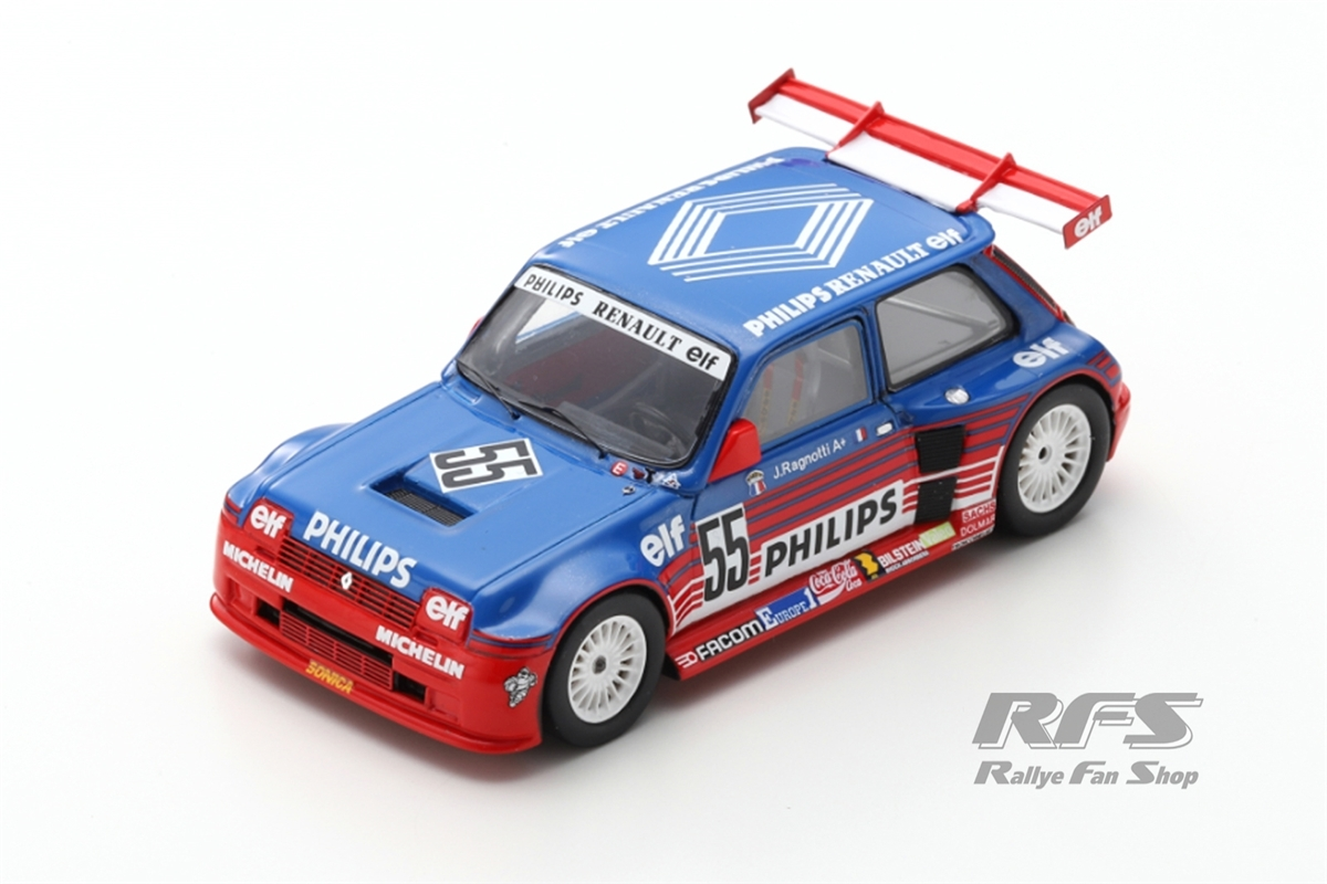 Renault 5 Maxi Turbo Superproduction  -  # 55Jean Ragnotti - Superproduction 19871:43 - Spark SF 136