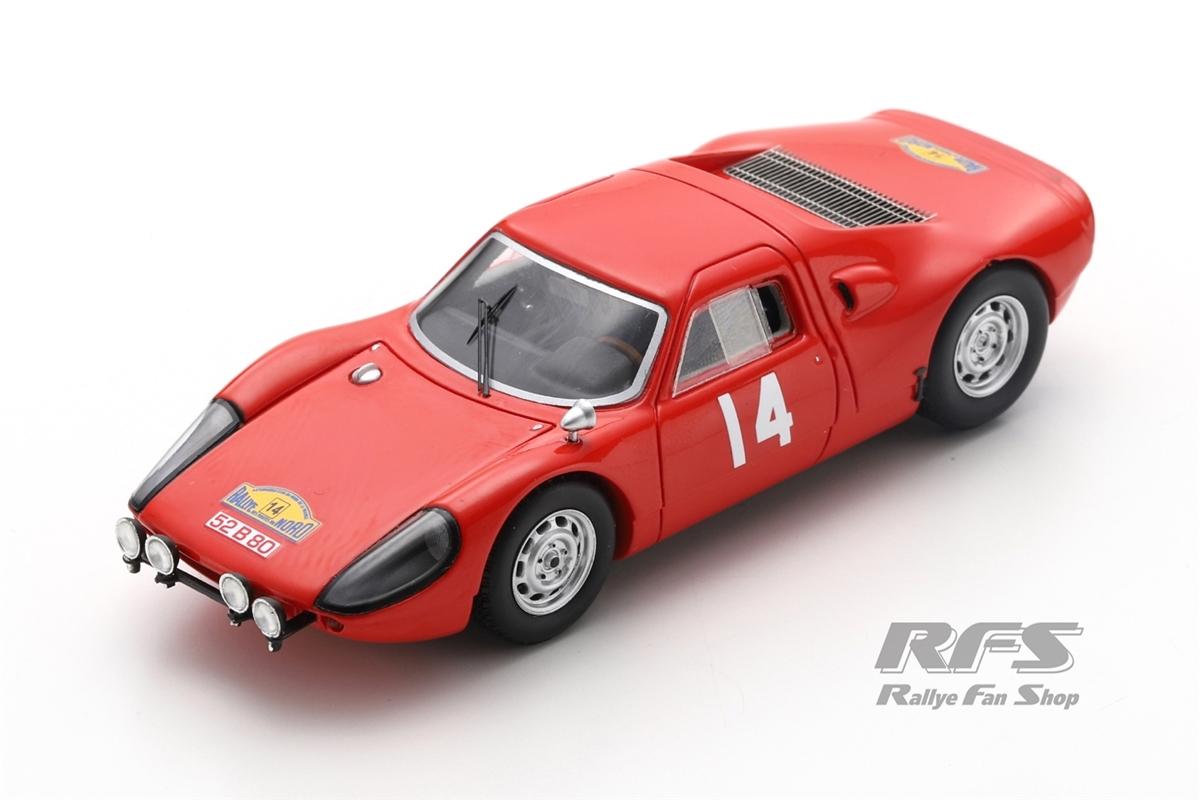 Porsche 904 GTS Carrera - Meert / PedroRallye des Routes du Nord 1965  -  # 141:43 - Spark SF 164