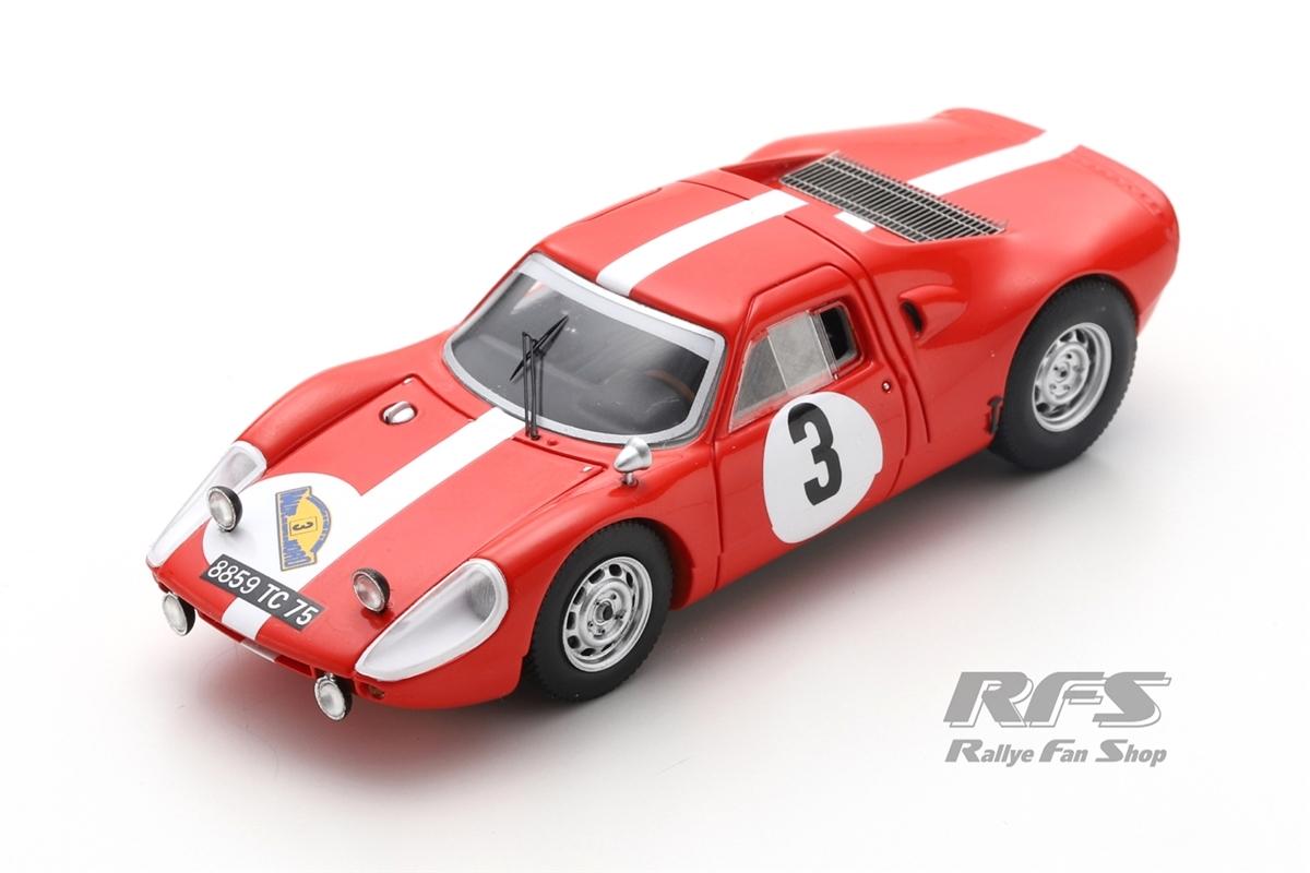 Porsche 904 GTS Carrera - Dumousseau / RoquesRallye des Routes du Nord 1967  -  # 31:43 - Spark SF 165