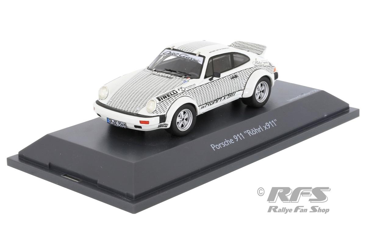 Porsche 911 - Röhrl x911Limited Edition 1/750 - PRO.R 431:43 - Schuco 450912000