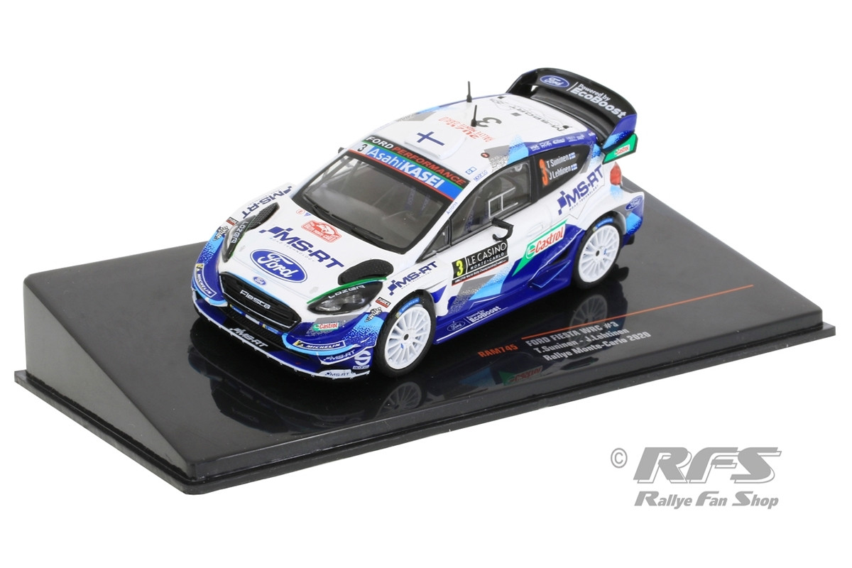 Ford Fiesta WRC - Rallye Monte Carlo 2020Teemu Suninen / Jarmo Lehtinen  -  # 31:43 - IXO RAM 745