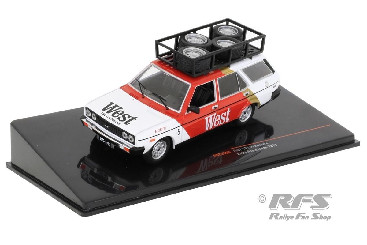 Fiat 131 Panorama - Rallye ServiceWest Rally Team Lancia - Capone / Zanussi1:43 - IXO RAC 306