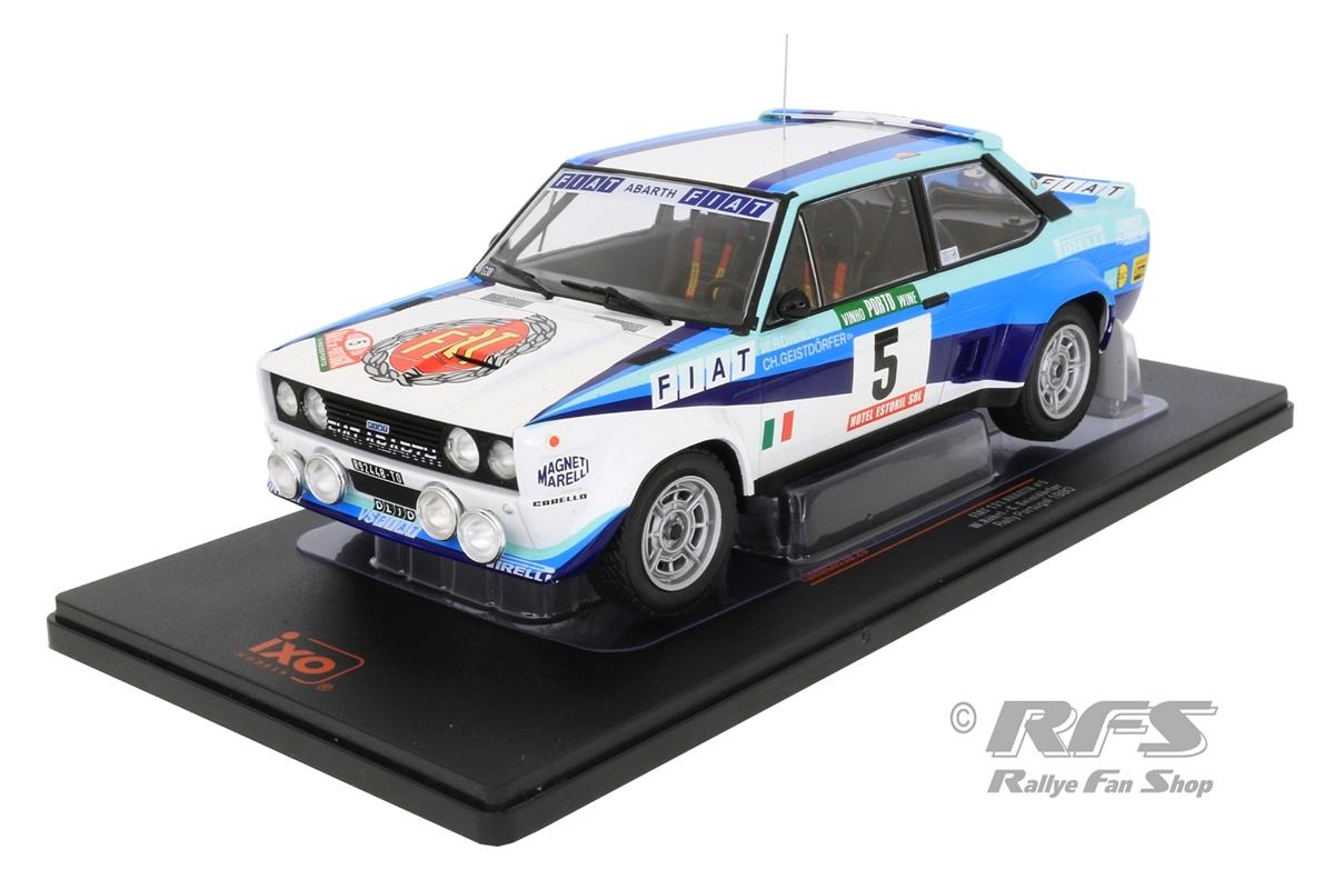 Fiat 131 Abarth - Rallye Portugal 1980Walter Röhrl / Christian Geistdörfer  -  # 51:18 - IXO 18RMC053B