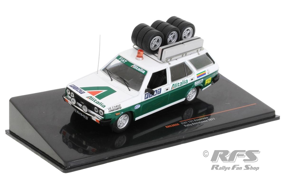Fiat 131 Panorama - Rallye ServiceAlitalia Rally Team - Röhrl / Alen / Munari1:43 - IXO RAC 305