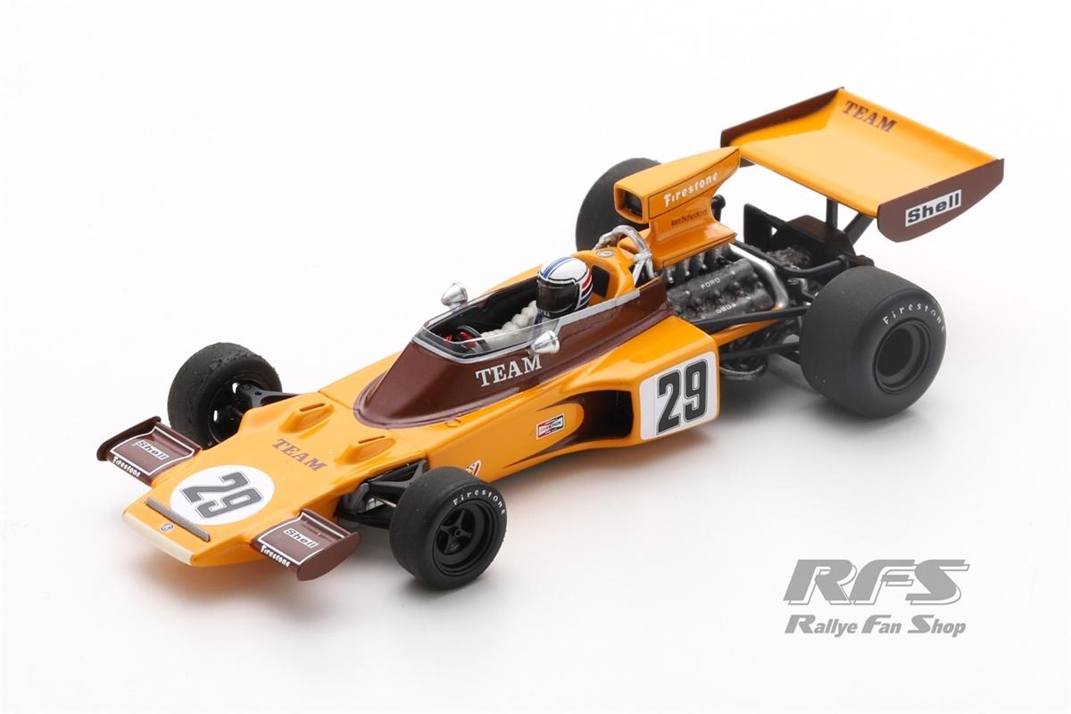 Lotus 72E Ford - Ian ScheckterFormel 1 GP Südafrika 1974  -  # 291:43 - Spark 7296