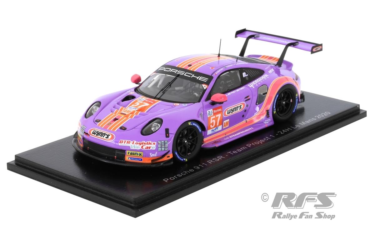 Porsche 911 RSR - 24h Le Mans 2020  # 57Bleekemolen / Fraga / Keating - Team Project 1 wynns1:43 - Spark 7988