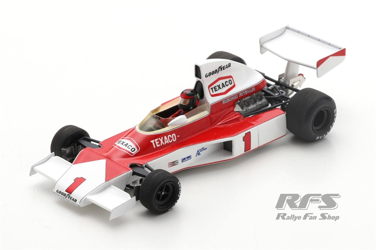 McLaren M23 Cosworth - Emerson Fittipaldi Winner Formel 1 British GP 1975  -  # 1 1:43 - Spark 5743