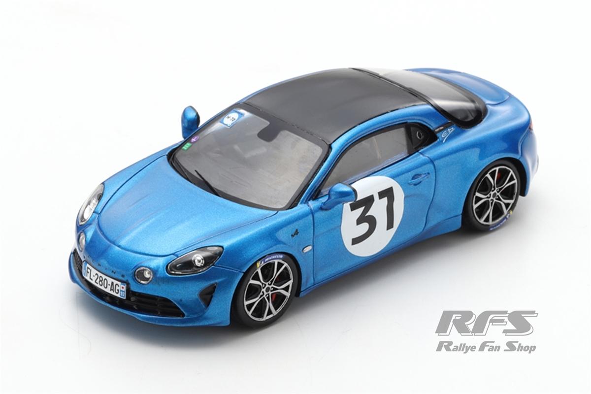 Alpine A110 S - Esteban Ocon Rallye Monte Carlo 2021  -  # 31 1:43 - Spark 6576