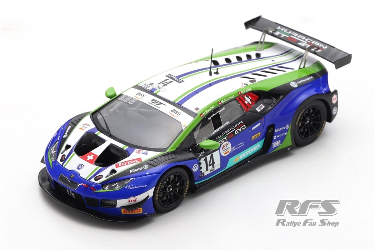 Lamborghini Huracan GT3 - 24h Spa 2020 Emil Frey Racing - Feller / Grenier / Siedler  # 14 1:43 - Spark SB 382
