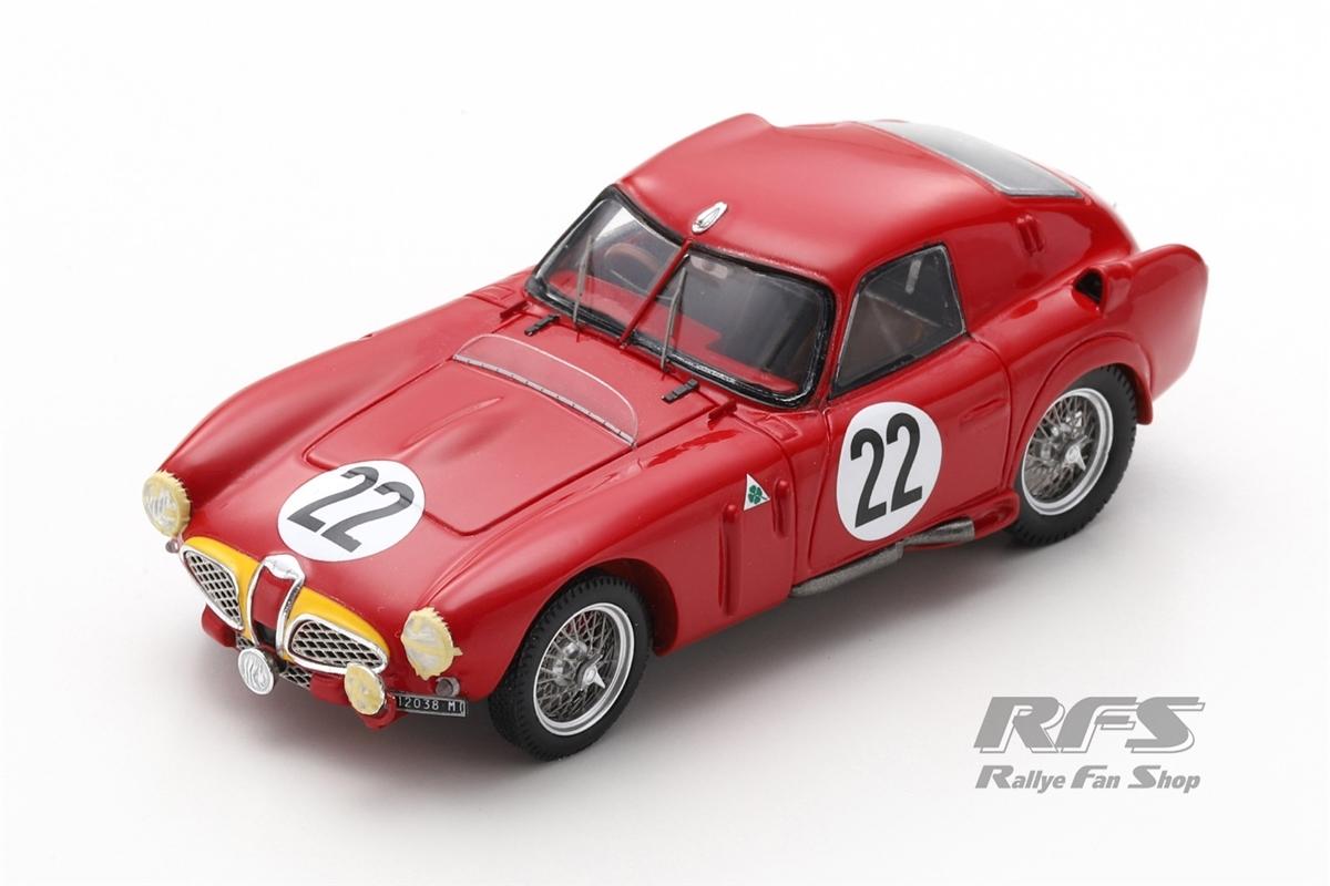 Alfa Romeo 6C 3000 CM - 24h Le Mans 1953 Juan Manuel Fangio / Onofre Marimon  -  # 22 1:43 - Spark 4703