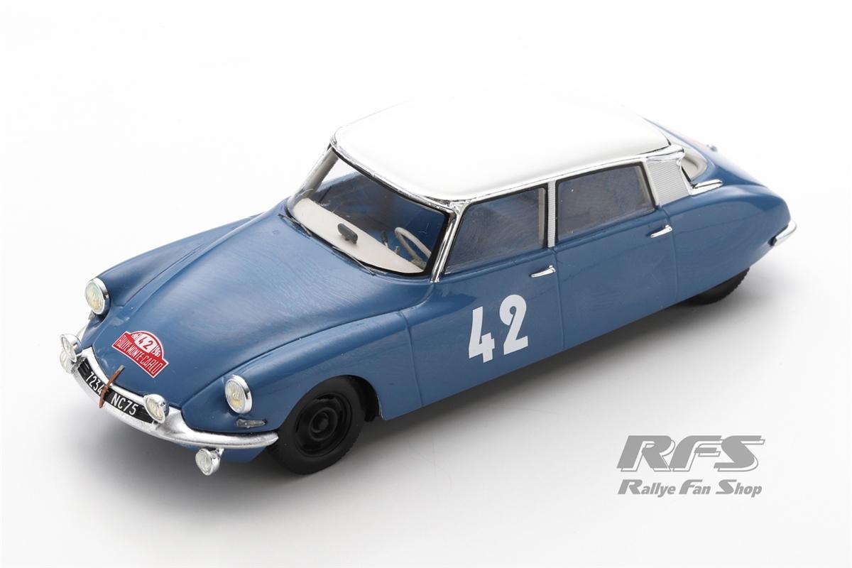 Citroen DS 19 - Rallye Monte Carlo 1963 Lucien Bianchi / Jean-Claude Ogier  -  # 42 1:43 - Spark 5532