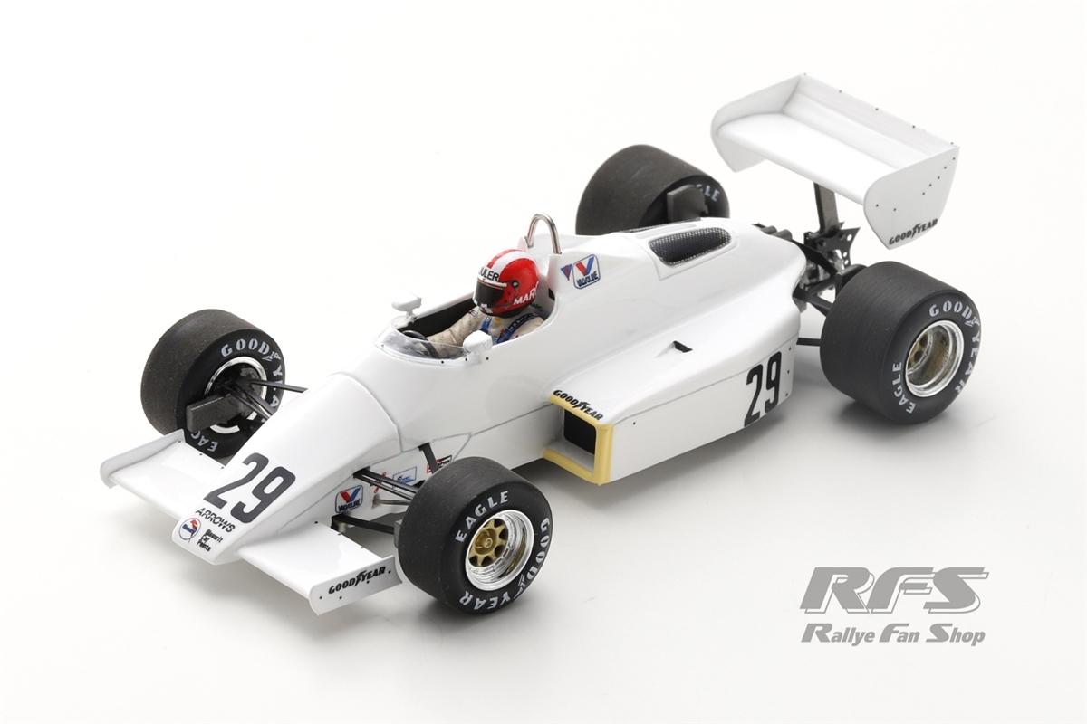Arrows A6 Ford Cosworth - Marc Surer Formel 1 GP Brasilien 1983  -  # 29 1:43 - Spark 5778
