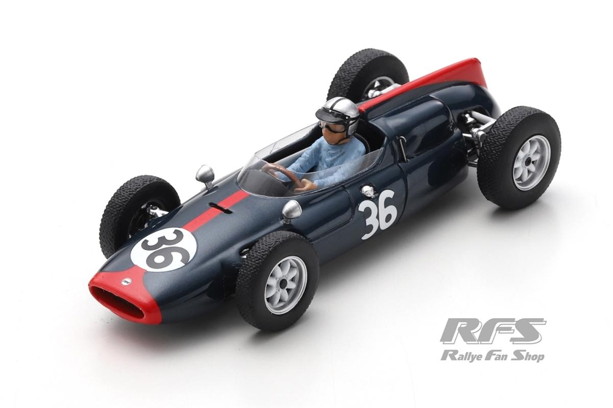 Cooper T53 Climax - Roy Salvadori Formel 1 British GP 1961  -  # 36 1:43 - Spark 8060