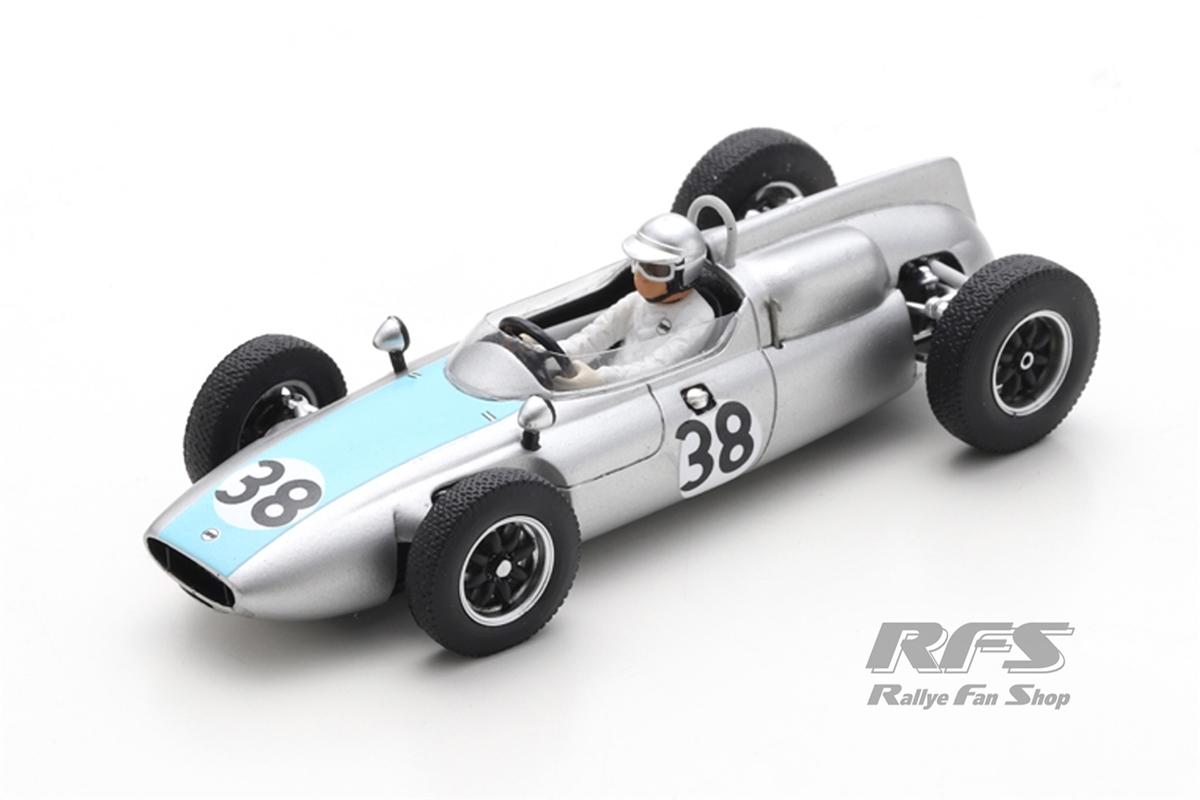 Cooper T53 Climax - Bernard Collomb Formel 1 GP Deutschland 1961  -  # 38 1:43 - Spark 8061