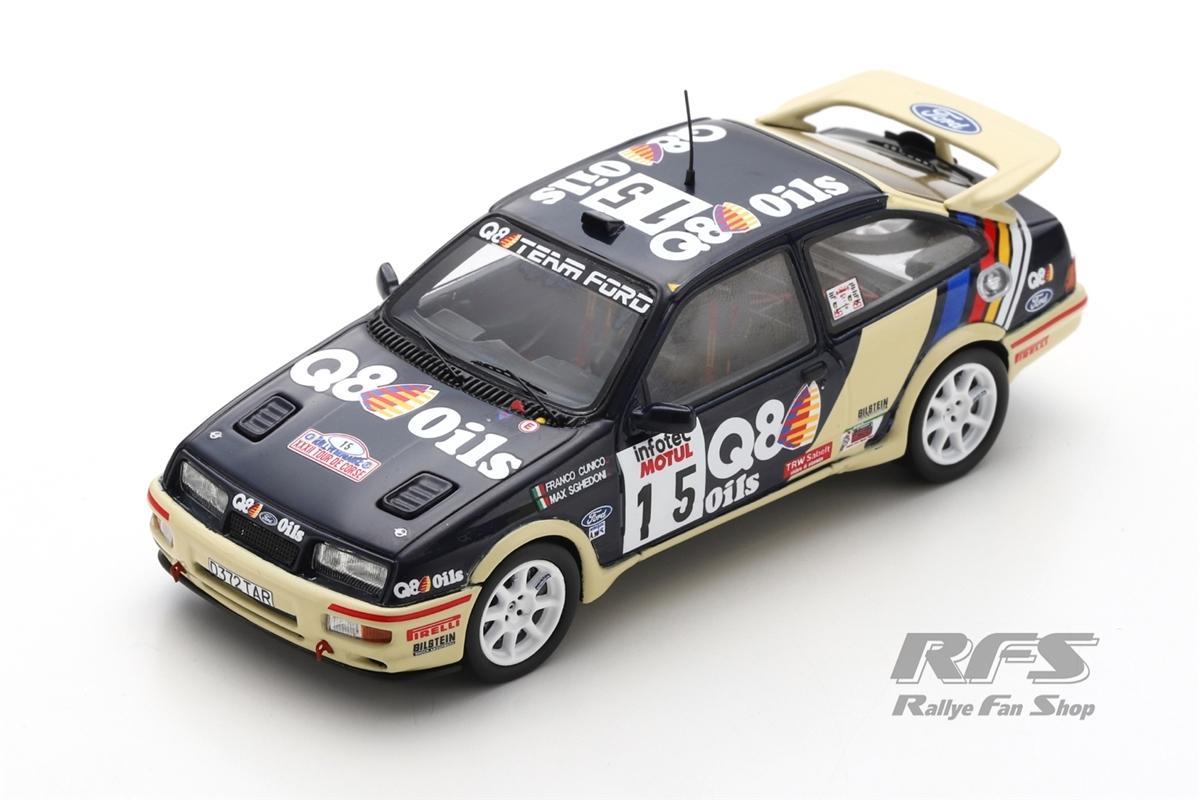 Ford Sierra RS Cosworth - Tour de Corse 1989 Gianfranco Cunico / Massimo Sghedoni  -  # 15 1:43 - Spark 8707