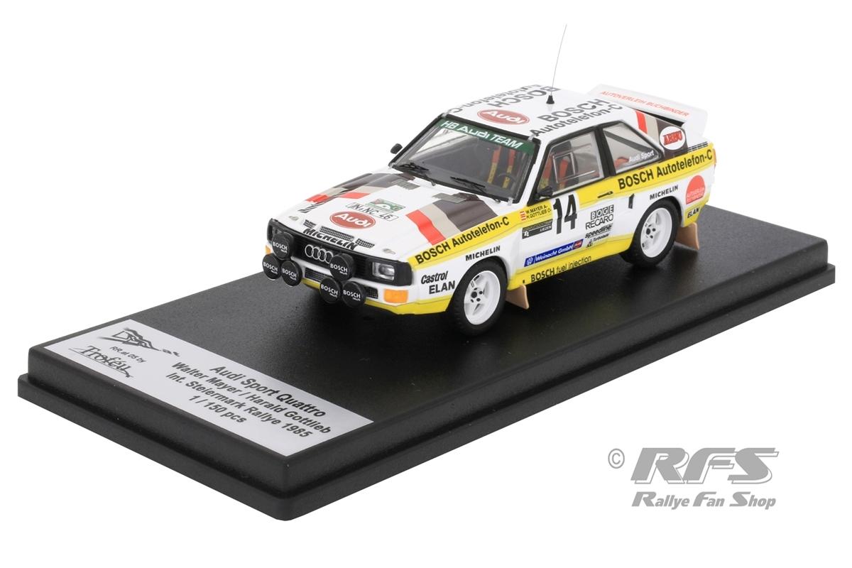 Audi Sport Quattro - Int. Steiermark Rallye 1985 Walter Mayer / Harald Gottlieb  -  # 14 1:43 - Trofeu RRat05