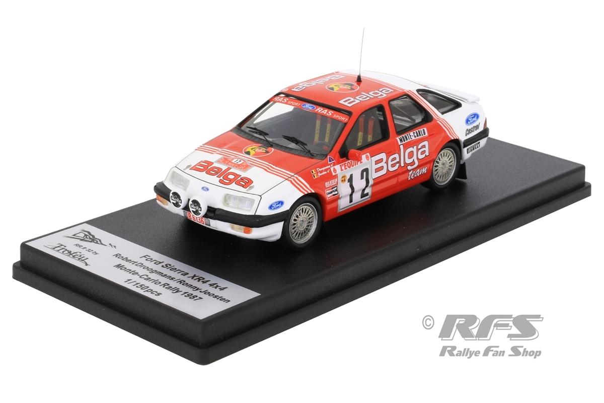 Ford Sierra XR4 4x4 - Rallye Monte Carlo 1987 Robert Droogmans / Ronny Joosten  -  # 12 1:43 - Trofeu RRfr32
